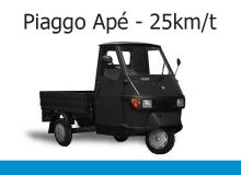 Piaggo APE 25 km/t