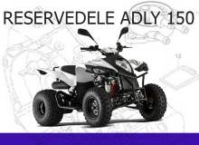 Reservedele Adly 150