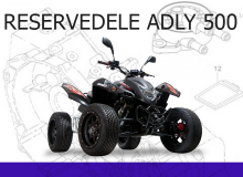 Reservedele Adly 500