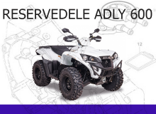 Reservedele Adly 600