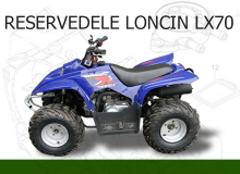 Reservedele Loncin LX70