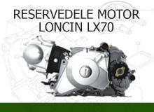 Reservedele motor Loncin LX70